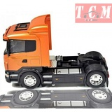 Scania R470 V8 Orange in 1-32 Scale Die Cast Models by Welly
