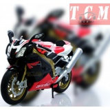 APRILIA RSV 1000R FACTORY IN 1-10 SCALE DIECAST REPLICA BY WELLY