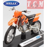 ماکت موتورسیکلت -KTM 450 SX RACING IN 1-18 SCALE DIECAST BY WELLY