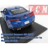 ماکت ماشین شورولت کامارو Chevrolet Camaro SS 2016 Blue in 1-18 Diecast Model Car by Maisto