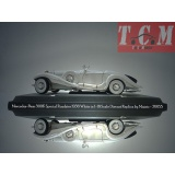 ماکت ماشین مرسدس بنز Mercedes-Benz 500K Special Roadster 1936 White in 1-18 Scale Diecast Replica by Maisto
