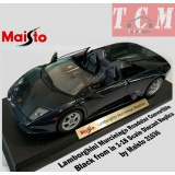 ماکت ماشین لامبورگینی Lamborghini Murcielago Roadster Convertible Black from Maisto is in 1-18 Scale Diecast Replica