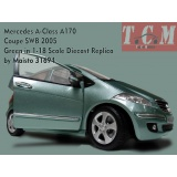ماکت ماشین مرسدس Mercedes A-Class A170 Coupe SWB 2005 Green in 1-18 Scale Diecast Replica by Maisto