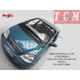 ماکت ماشین مرسدس MERCEDES BENZ A CLASS LONGVERSION IS BLUE IN 1-18 SCALE DIECAST REPLICA BY MAISTO