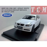 ماکت ماشین بی ام او BMW 330i (E90) 2006 - sedan WHITE IN 1-18 SCALE DIECAST REPLICA BY WELLY