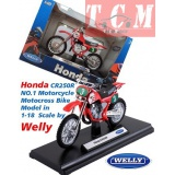 موتورسیکلت هندا Honda CR250R Motorcycle Motocross Bike Model IN 1-18 Scale by Welly.jpg