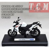 موتورسیکلت هندا HONDA CB 500 F MOTORCYCLE DIECAST DIECAST REPLICA IN 1-18 SCALE BY WELLY