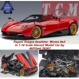 ماکت ماشین پاگانی Pagani Huayra Roadster Monza Red in 1-18 Scale Diecast Model Car by AUTOart