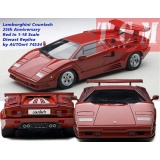 ماکت ماشین لامبورگینی Lamborghini Countach 25th Anniversary Edition Red AUTOart