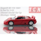 ماکت ماشین بوگاتی Bugatti EB 110 1991 is Red in 1-18 Diecast Model Car by Bburago