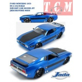 ماکت ماشین فورد ماستانگ FORD MUSTANG 1973 IN (1-24) SCALE DIECAST CAR MODEL BY JADA BIGTIME