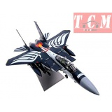 US Army F-15 Strike Eagle fighter bomber 1-100 aircraft model Collection model